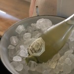 Prosseco in ice.  How nice.