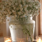 Vintage Jar for Flowers.