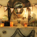 The collection of vintage and home made items for a fun design.