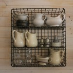 Clever Vintage Kitchen Organization Solutions Featured at Whisperwood Cottage Blog, Talent Scouts for Cottages and Bungalos Magazine.