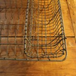 Old farm dish drying rack.