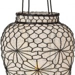 Wire and Linen Lantern