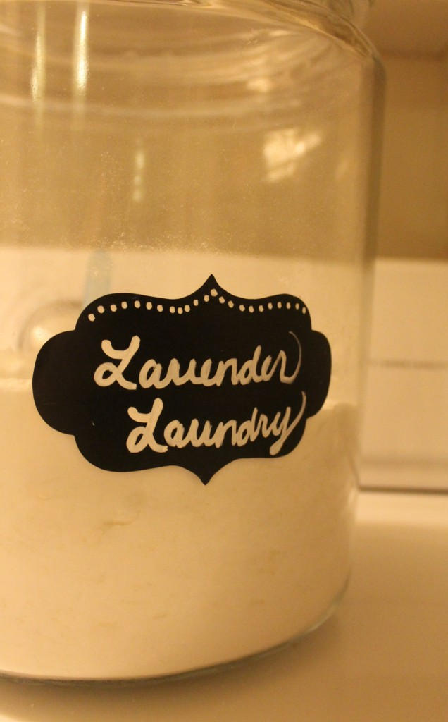Home Made Lavender Laundry Detergent.