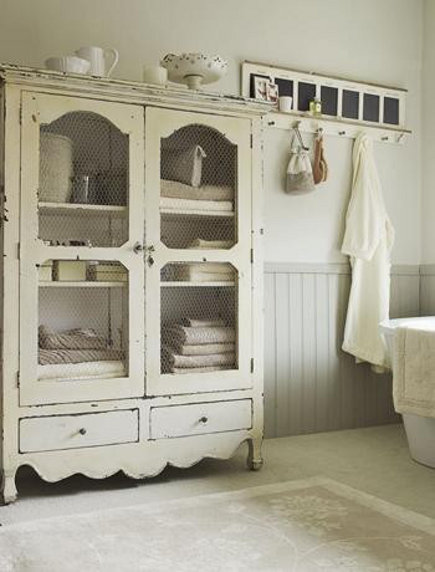 Although doubtful, I will have room for a full sized armoire...but this is lovely.