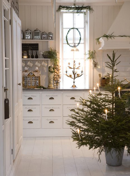 The Scandinavian Kitchen at Christmas