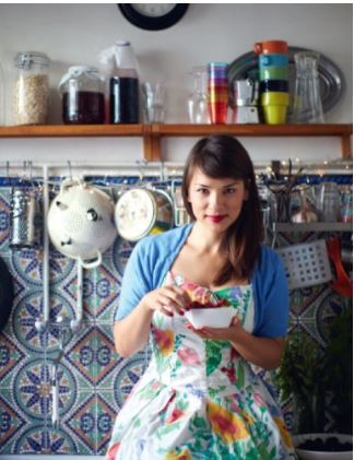 Rachel Khoo, literally in her Little Paris Kitchen