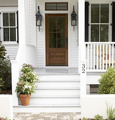 front door and steps my home ideas beach cottage
